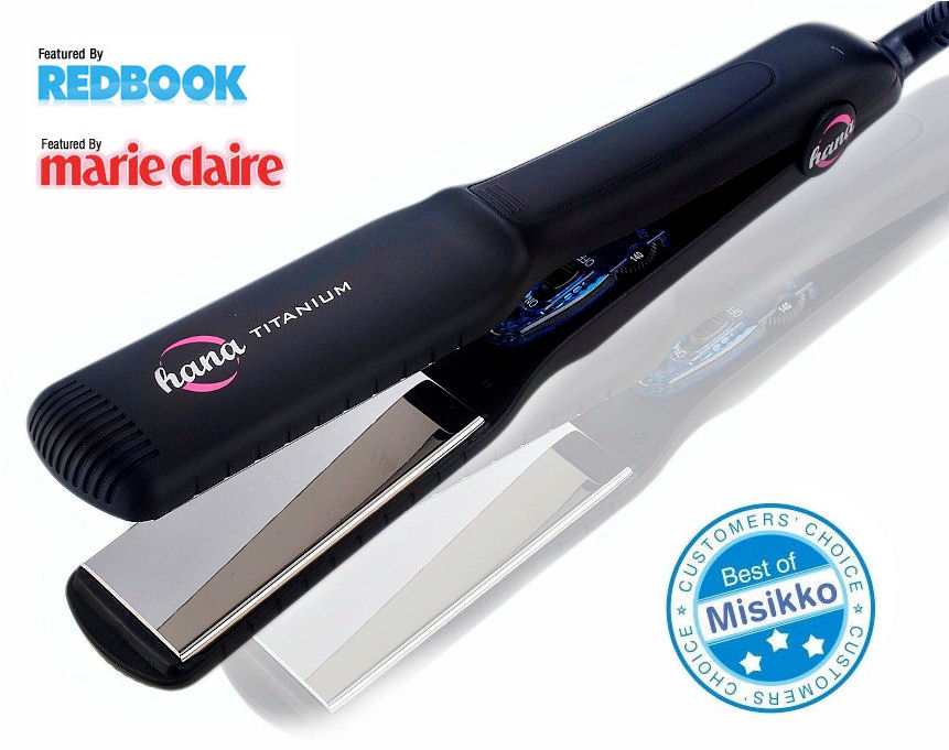 Review Hana Titanium 1 5 Flat Iron Includes Before