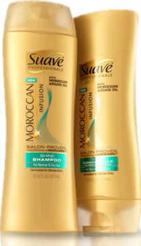 REVIEW: Suave Professionals Morrocan Infusion Hair Products – Emsies