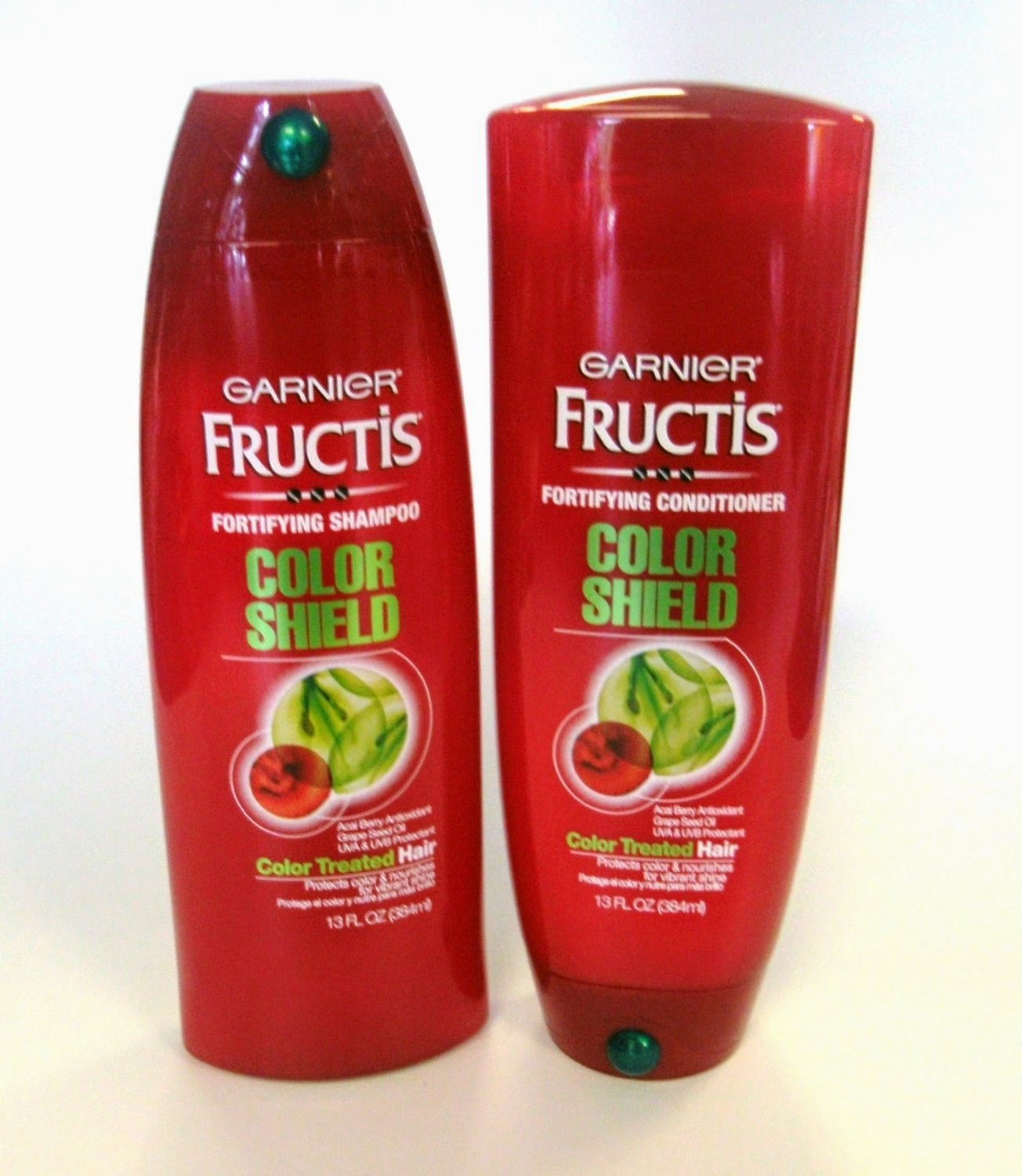 Review Garnier Fructis Color Shield Shampoo Conditioner Emsies