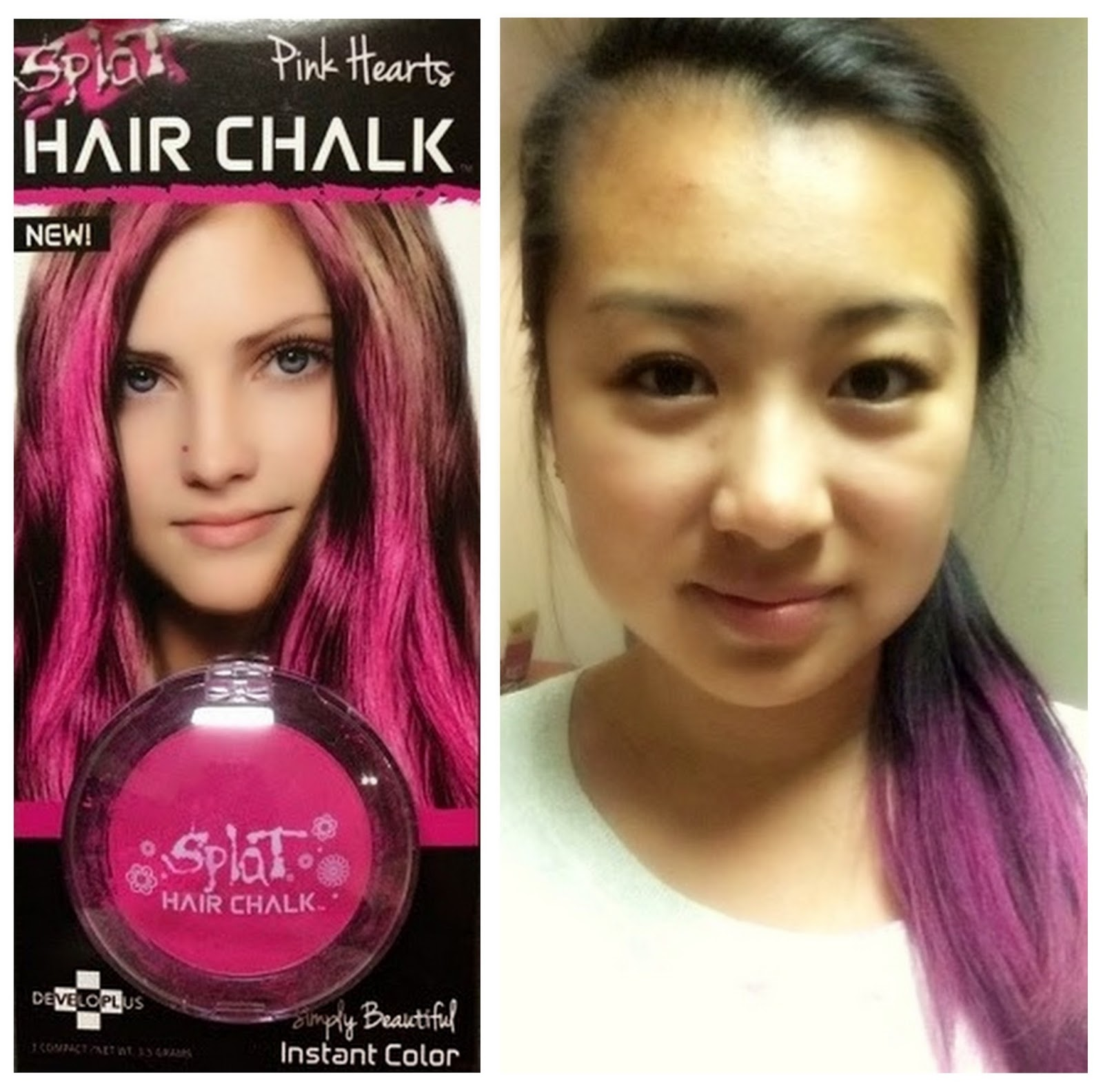 Review Splat Hair Chalk Emsies